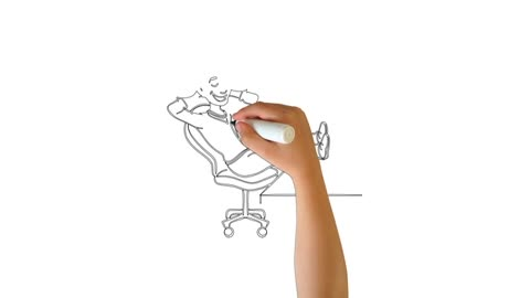 The challenge of drawing a child sitting on a chair