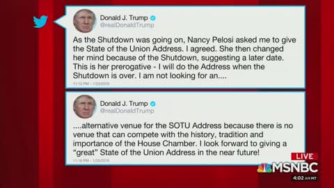 MSNBC's Brzezinski Gloats How Trump Backed Down From Pelosi