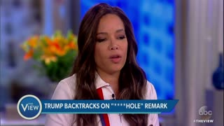 'The View' Takes on Trump's Alleged 'S**thole Countries' Comment - Video