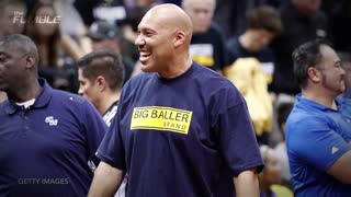 LaVar Ball Using Lonzo's Name to Get Free Sh!t - Video
