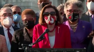 Nancy Pelosi Says Thank You to George Floyd for Being Murdered