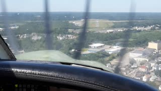 #PART 2: My first Landing @ New Bedford Airport