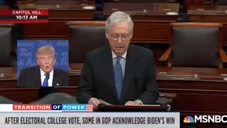 Mitch McConnell speaks