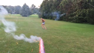Agility Training with Fireworks - Video