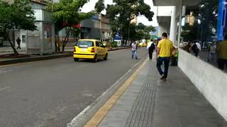 Día sin carro en Bucaramanga 5 - Video