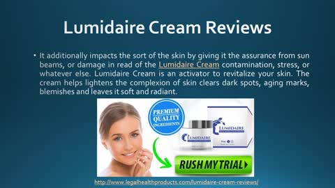 Lumidaire Cream Side Effects and Scam