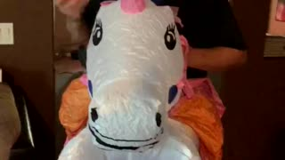Dad is a Unicorn for his Daughter - Video