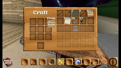 Block story how to get gold using sand and wood
