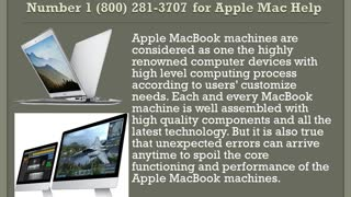 Mac Customer Care Support Number 1-800-281-3707 - Video