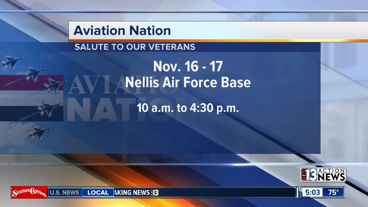 Aviation Nation next weekend at Nellis Air Force Base