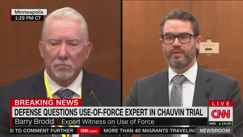 Defense Witness Says Chauvin Used 'Justified' Amount Of Force Against George Floyd