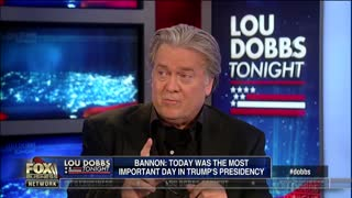 Bannon: Today most important day in Trump's presidency