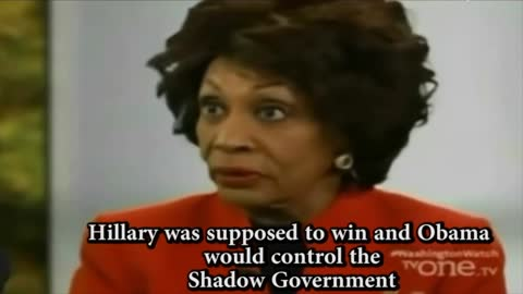 Maxine Waters — Obama Has Database Nobody Has Ever Seen Anything Like This In Life
