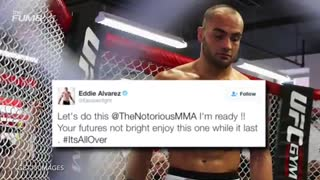 Conor McGregor Vs. Eddie Alvarez At UFC 205 Confirmed - Video