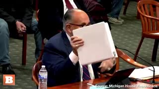 Rudy explodes during hearing!