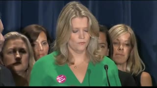 Women gather to show support to Brett Kavanaugh - Video