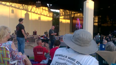 Old Man Getting Down To Bad Company's Live For The Music