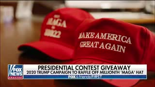 Fox News report on MAGA hat competition
