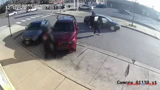 Chicago Police Release Surveillance Video of Shootout & Carjacking That Killed Retired Firefighter