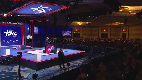 President Trump on Biden's disaster at the border #CPAC2021