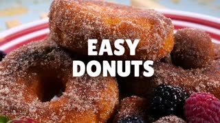 Make your own delicious donuts - Video