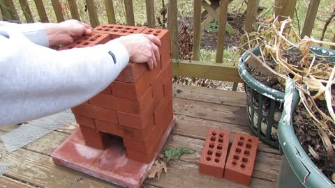 How to Build a Brick Rocket Stove for Fire Roasting Tomatoes, Peppers & Garden Vegetables