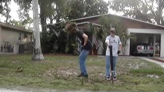Pogo stick backflip fail (original!) - Video