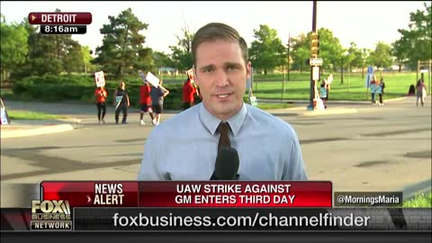 GM Strikers Say Company Is Abusing Temp Workers To Save Money