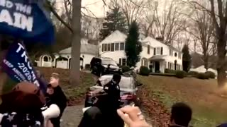 """Cuomo's house and sings """"We will rock you"""""""