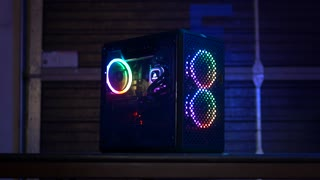 Gaming Computer with RGB Fans