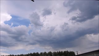 2.5 Hour Storm In 2.5 Minutes!  - Video