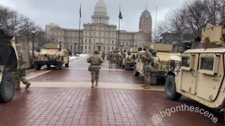 Michigan State Capitol Troops