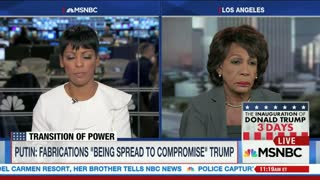 Rep. Maxine Waters: Putin & Trump Obviously Defending Each Other - Video
