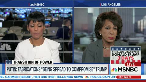 Rep. Maxine Waters: Putin & Trump Obviously Defending Each Other