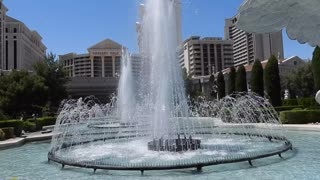 (ASMR) The fountains at Caesars Palace in Las Vegas.