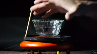Fire Bubble With A Levitating Top! - Video