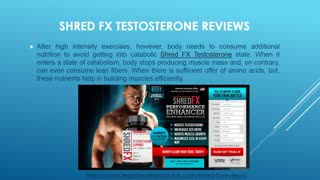 Shred FX Testosterone Reviews, Free Trial and Where to Buy - Video