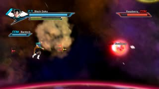 Black goku, Bardock VS Applue | dragon super ball