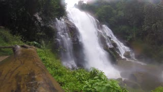 Amazing Waterfall In Northern Thailand  - Video