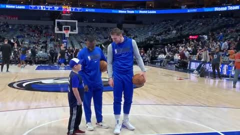 Seizure-free little fan can't believe he's about to meet NBA superstar Luka Doncic