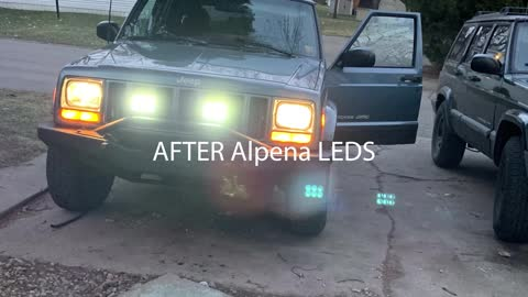 Installation and Review of Walmart Alpena LED Fog Lights