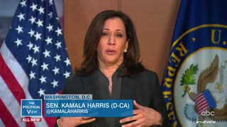Kamala Harris has A Cute Tea Time With Daytime Trainwreck To Discuss Defunding The Police