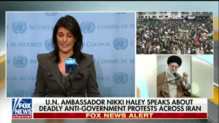 Nikki Haley Blasts Iran Amid Protests: 'We Can Not Remain Silent' - Video