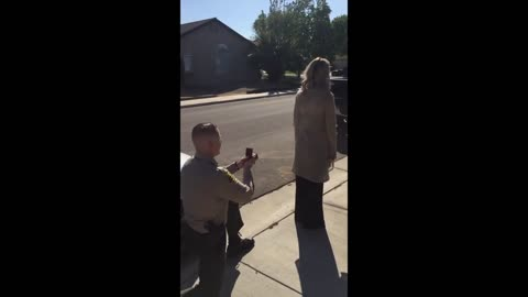 Pranked Woman For Drinking Under Influence Gets Marriage Proposal