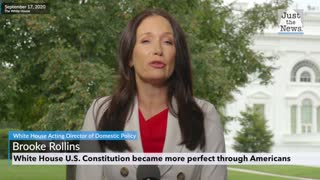 Brooke Rollins talks about the constitution