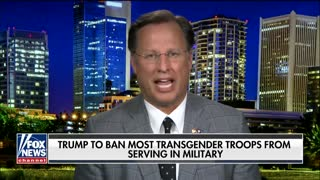 Rep. Dave Brat on White House move to ban transgender troops - Video