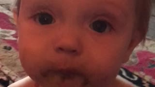 Cute Baby Girl Speaking With Mommy - Video