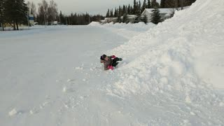 When You Don't Have a Sled