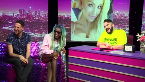 Miles Jai: Look at Huh SUPERSIZED Pt 2 featuring Nicola Foti on Hey Qween with Jonny McGovern