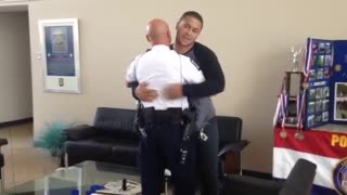 Officer reunites with man he saved 20 years ago!